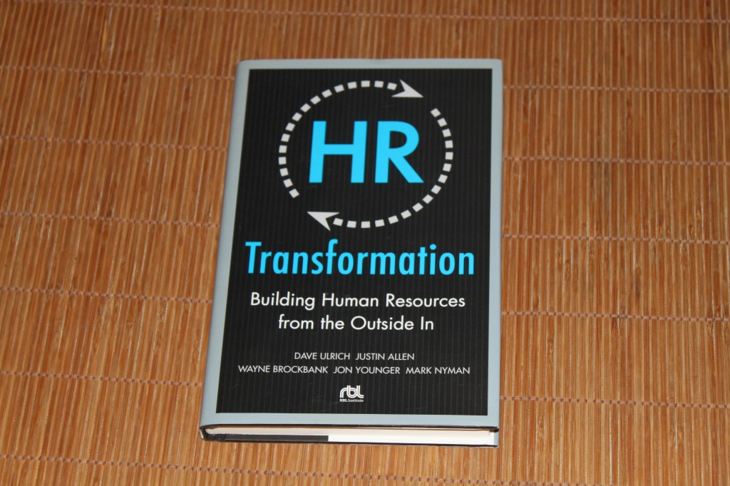 HR Transformation van Dave Ulrich