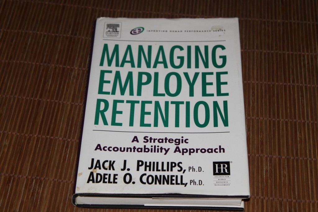 Managing Employee Retention van Jack Phillips