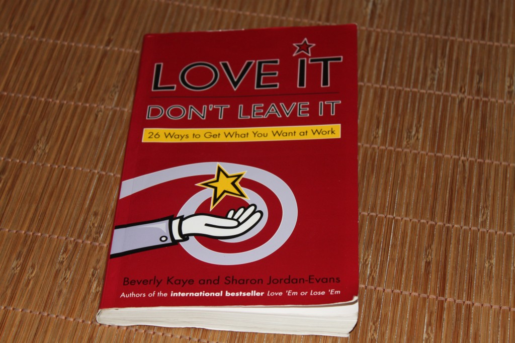 Love it do not leave it van Beverly Kaye en Sharon Jordan-Evans